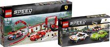 LEGO Speed Champions 75889 und 75888 Ford Focus Mustang Ferrari Porsche N3/18