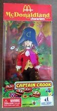Huckleberry Toys McDonaldland Captain Crook Character Fast Food Doll NIB