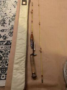 Vintage Ted Williams Sears Roebuck & Co Fishing Rod Model 535.30512 w/ Case