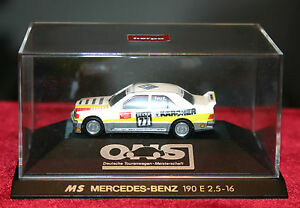 Herpa Who, Ms Mercedes 190 E 2.5-16, DTM 1990, New Box 1/87