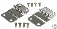 $$  Stainless steel TAILGATE HINGES  7419 76-86 FOR Jeep CJ