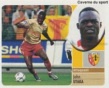 JOHN UTAKA # NIGERIA RC.LENS PORTSMOUTH.FC STICKER  PANINI FOOT 2003