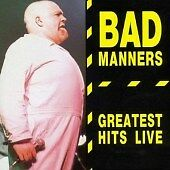 Bad Manners - Greatest Hits Live [Harry May] (Live Recording, 2005) SKA CD