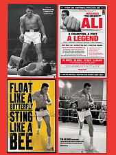 Muhammad Ali Posters 4 Licensed posters of the THE GREATEST Boxer Poet Legend