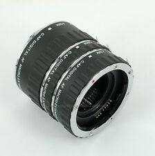 Meike AF MACRO Auto Extension Tube Set For Canon EF EOS