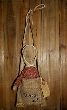 PATTERN ON CD~Prairie/PIONEER/CHURCH DOLL HANGER/MY PRIMITIVE SALTBOX/BAG/PT86