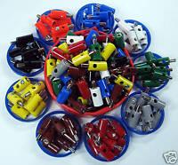 99 Conector de Modelo de Tren / Manguitos 9 Colores También para Märklin #G