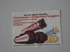 advertising Pubblicità 1970 CARRARMATO PERUGINA