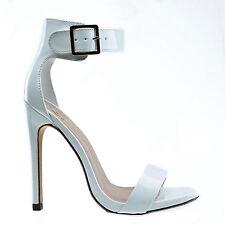 Canter Classy Dress Open Toe Buckle Ankle Strap Stiletto Heel Sandal