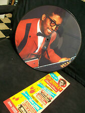 BO DIDDLEY - I'm a Man Live 84 Picture Disc LP BLUES Guitar