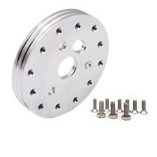 "1/2"" inch Aluminum Hub for 6 Hole Steering Wheel To Fit Grant APC 3 Hole Adapter"