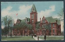 Fargo High School Fargo North Dakota Vintage Postcard