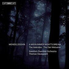 MENDELSSOHN: A MIDSUMMER NIGHT'S DREAM; THE HEBRIDES; THE FAIR MELUSINE NEW CD