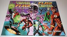 Green Lantern Flash Faster Friends 1 2 Comic SET DC 1st Print First Complete RUN