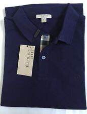 BURBERRY BRIT MEN S CASUAL SHIRT POLO SHORT SLEEVE CHECK PLACKET S,M,L,XL 2XL 3
