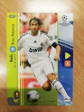 1x Panini Champions League 2008/2009 RAUL Boosterfrisch  #157 Mint Real Madrid