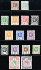 LEEWARD ISLANDS 1954 SG 126-140 SC 133-147 OG VF MNH * COMPLETE SET 15 STAMP