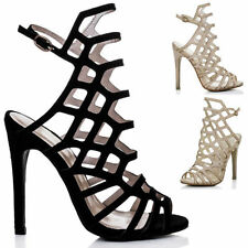 High (3 in. to 4.5 in.) Sandals Stiletto Heels for Women