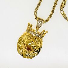 18 KT. gold plated hip hop jewelry pendants