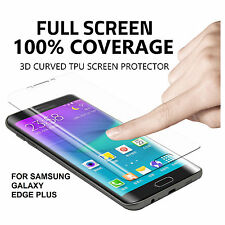 Full Coverage 3D TPU Gel Anti Shock Screen Protector Samsung Galaxy S6 Edge PLUS
