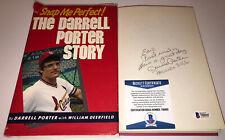 DARRELL PORTER SIGNED AUTOGRAPHED BOOK SNAP ME PERFECT CARDINALS BECKETT BAS COA