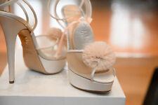 NWB Charlotte Olympia Ivory Pauline Bridal  shoes Size 41/ 10.5  Retail $1,250