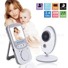 Wireless Babyphone Mit Kamera Video Audio Monitor Nachtsicht Babypflege Weiß