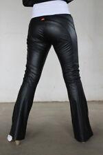 Miss Sixty Lederhose W26 (fällt groß aus) Modell Harriett schwarz Kunstlederhose