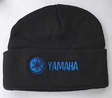 YAMAHA MOTORCYCLE EMBROIDERED BEANIE YZ RT MX WR XT DT 350 400 500 600 750 1000