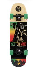 Sector9 Bob Marley Natty Ride Cruiser Skateboard Complete - 30.9 Inches