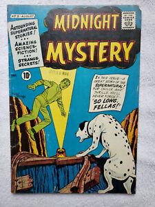 Midnight Mystery #5 (Aug. 1961, American CG) [VG+ 4.5]
