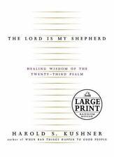 The Lord Is My Shepherd Large Print Harold S. Kushner Random House