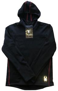 Spyder Hooded Sweatshirt Men's Medium Black NEW WITH TAGS - FREE SHIPPING