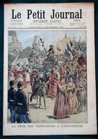 1900 Paris Exposition Universelle - China's Boxer Beheadings - French Newspaper