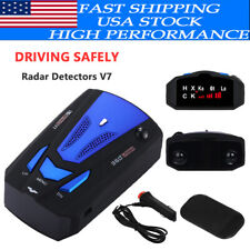Car V7 16 Band 360 Gps Camera Laser Police Safe Radar Detector Voice Alert