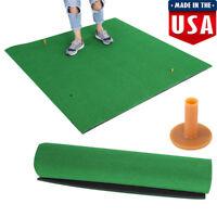 """Backyard Golf Mat 60"""" x 60"""" Pro Residential Practice Golf Mat Roll Down Fairway"""