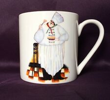 Bone China Chef's/Cooks Mug Hand Decorated In Wales 18fl Oz (almost a Pint)
