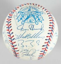 JSA Barry Bonds Greg Maddux Mike Piazza Ozzie 1995 AS Team Signed Ball Autograph