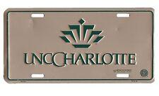 USA Auto Targa Licenza Piastra Stile Segno Metallo Insegna - UNC Charlotte