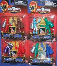 "Power Rangers Mystic Force 3"" Green Red Wolf King Blue Thumb NEW Factory Sealed"
