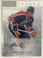 2014-15 Wayne Gretzky Upper Deck Artifacts Card #41 Edmonton Oilers Legend