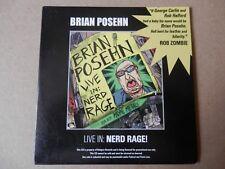 Brian Posehn – Live In: Nerd Rage Promo CD Heavy Metal Judas Priest Rob Zombie