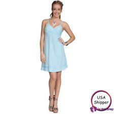 Womens Mini Dress / Short Dress in Light Turquoise in Large
