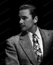 8x10 Print Errol Flynn Warner Bros Studio Portrait 1938 #EF363