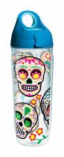 Tervis  24 oz. Sugar Skull  Water Bottle  Clear