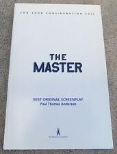 The Master Best Original Screenplay Oscar FYC Paul Thomas Anderson Phoenix Adams