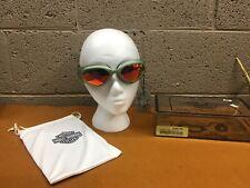 OEM NOS Harley Davidson GOG-Magnetic Goggle, Silver, Orange