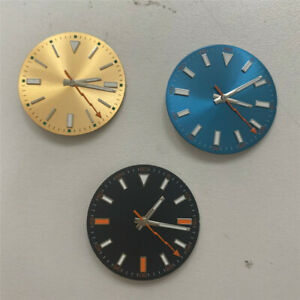 Luminous Watch Dial Hands For MIYOTA 8215/821A Mingzhu 2813 3804 Movement Parts