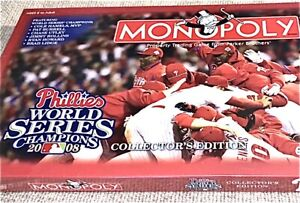 Monopoly Factory Sealed Philadelphia Phillies World Series Champs 2008 Coll. Ed