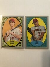 2019 Topps Heritage OHTANI, TROUT Lot New Age Performers 2 Card Lot